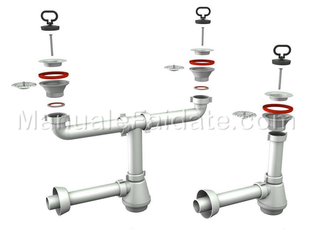 Lavatrice e lavastoviglie come si installano in cucina idraulico manuale faidate guida ufficiale - Perdita sifone lavabo cucina ...