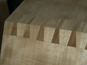 interlocking dovetail