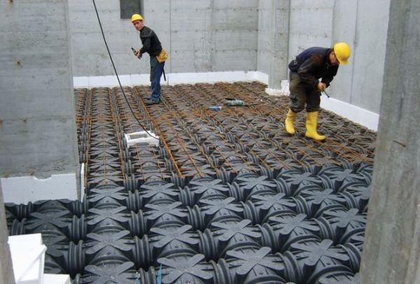 Ground Floor Floor Realization Of The Floor With A Vespaio