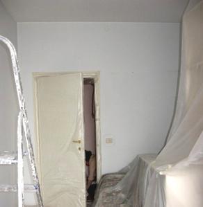 Preparare i locali per l 39 imbiancatura proteggere le for Imbiancatura delle pareti