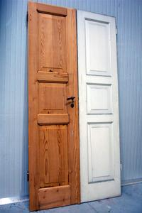Verniciare le porte colorare le porte di casa imbianchino manuale fai da te - Porte grezze da verniciare ...