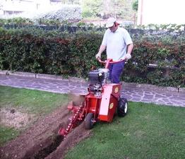 Interrare tubo acqua giardino confortevole soggiorno for Geolia irrigazione