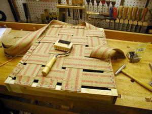 Categorie del manuale del tappezziere le nozioni base del - Tappezzare una sedia ...