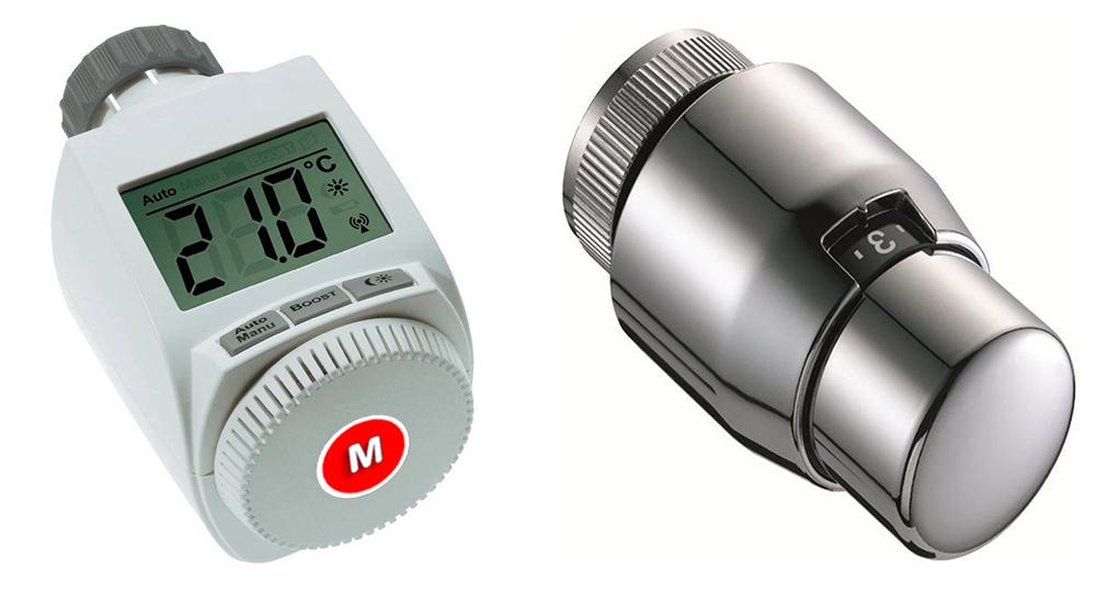 ripartitori calore e valvole termostatiche condominio