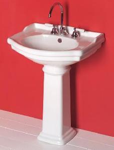 Installare il lavabo come si monta un lavandino a parete o con piedistallo  Manuale Fai Da Te ...
