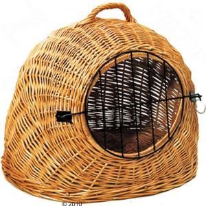wicker carrier
