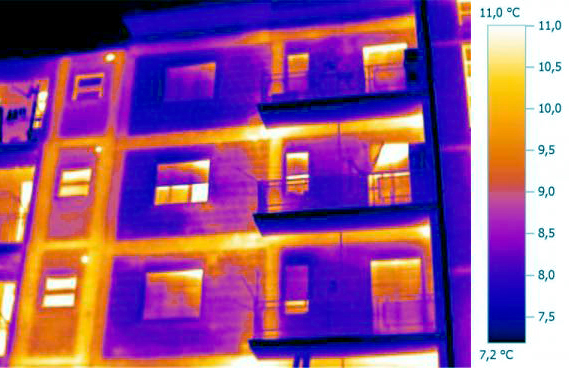 thermal bridge thermography