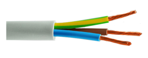 triple electric cable