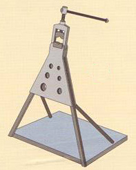 pipe clamp stand